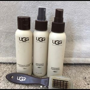 Cleaning products for uggs